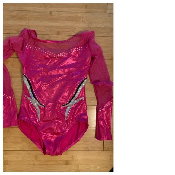 Girl's Pink Balera Gymnastics Leotard Leo CM